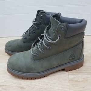 Timberland Shoes - Timberland Boots Womens 8.5 Green Gray 6